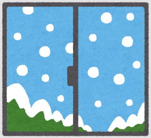 窓断熱のイメージ