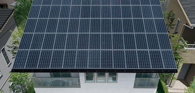 一条工務店 太陽光パネル