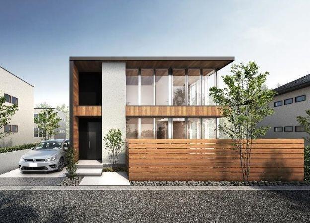 大空間の家