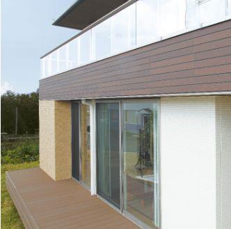 大安心の家プレミアムは凹凸の少ないシンプルな形状