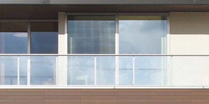 大安心の家プレミアム 強化ガラス仕様ハンドレール