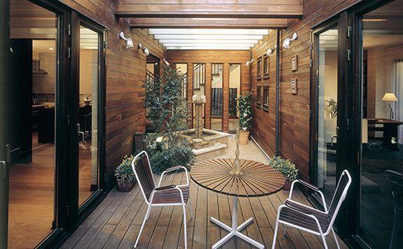 三井ホーム 中庭
