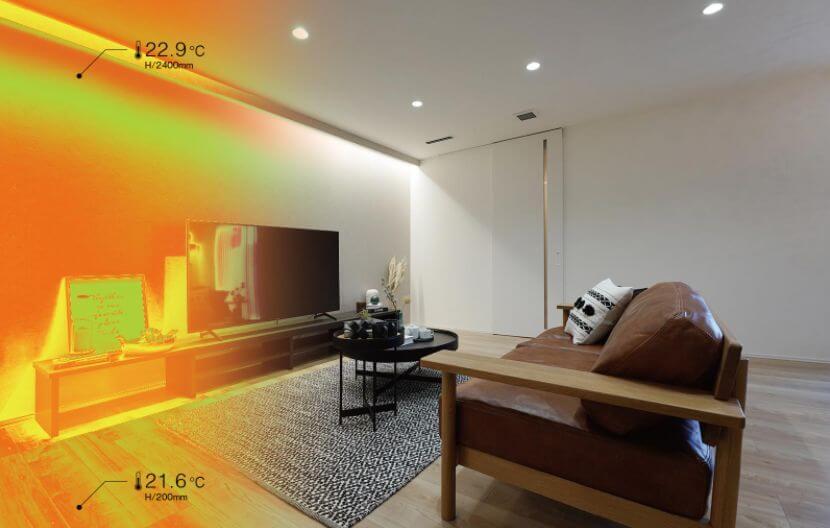 すごい家 全館空調のイメージ